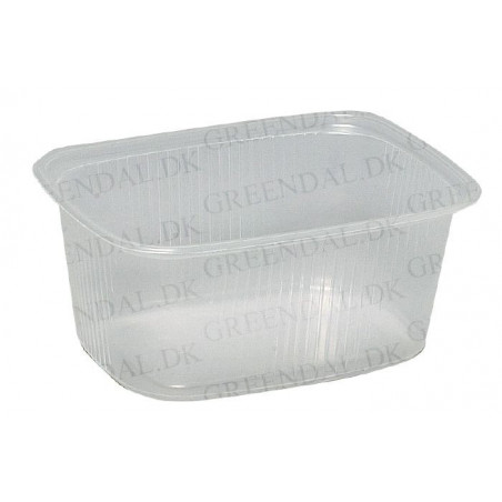 Plastbakke Klar 250ml 100stk/ps