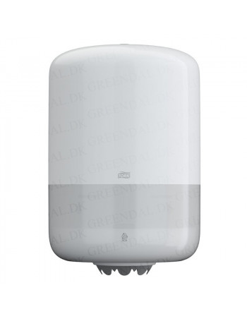 Tork Dispenser  t/Aftørringspapir Hvid plast -