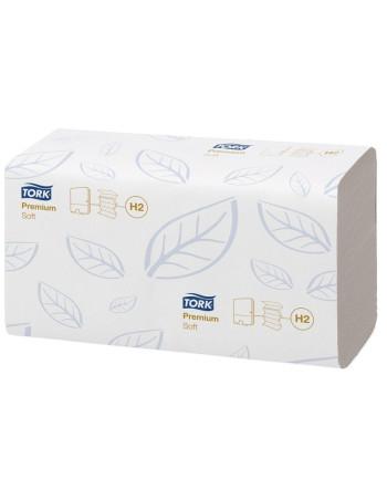 Papirhåndklæde Tork Xpress H2 Prem 2-lags M-fold 2310stk/krt