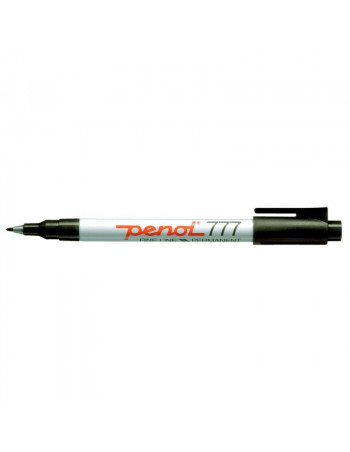 Marker Penol 777 sort 1,0mm -