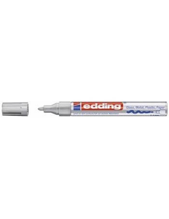 Marker Edding 750 permanent hvid 2-4mm -