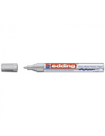 Marker Edding 750 permanent hvid 2-4mm