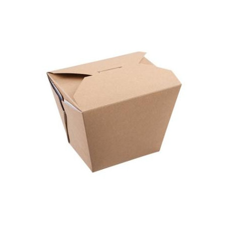 Take away æske 118/84x97/63x92 mm Brun 750ml