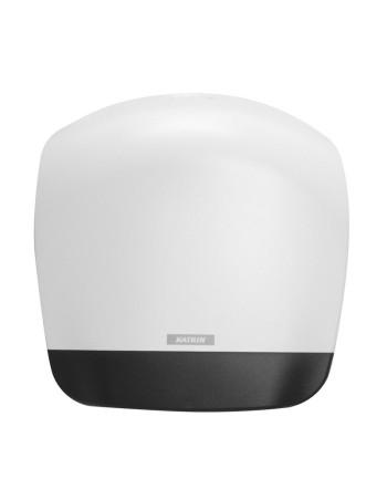 Dispenser t/toiletpapir M hvid -