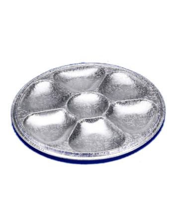 Catering platte m/7 rum Ø277xH15mm 70stk/ps
