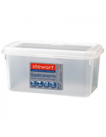 Container plast til fødevarer 1/1 GN. Inkl. Låg