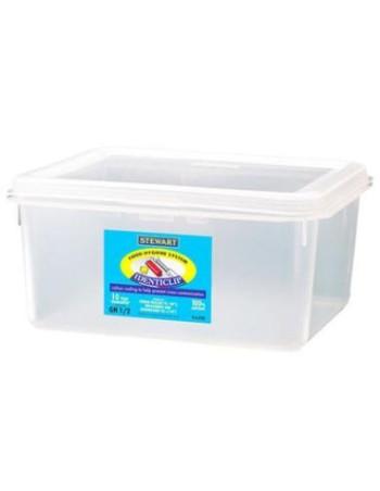 Container plast til fødevarer 1/2 GN. Inkl. Låg