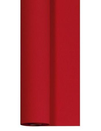 Bordpapir stof præg rød 1,20x50m pr/Rl