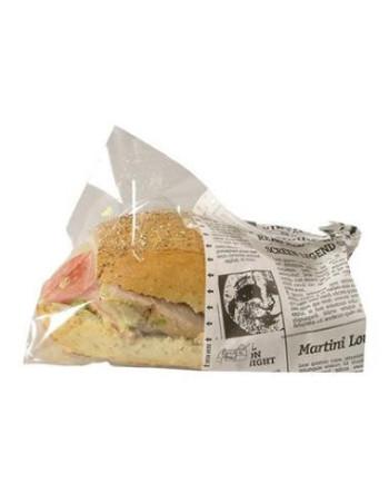 Sandwich pose Old News Snack bag Large