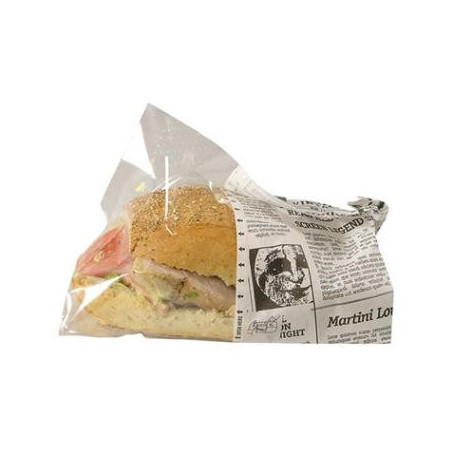 Sandwich pose avis (OldNews) Snack bag Large