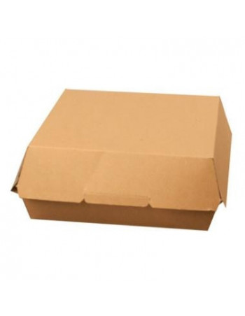 Burger/sandwich boks Xl 19x19x8,2cm.