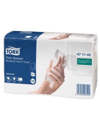 Papirhåndklæde Tork Xpress H2 2-lags 3800stk/kar
