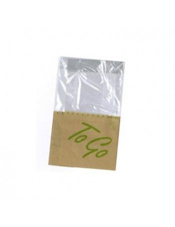 Sandwich pose ToGo Snack bag 215x130mm