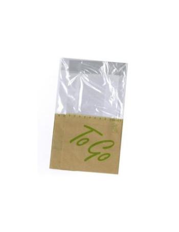 Sandwich pose ToGo Snack bag 215x130mm