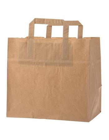 Bærepose papir 11L brun