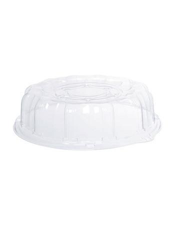 Plastfad t/ sushi m/låg Ø30,5cm 25 stk/kar.