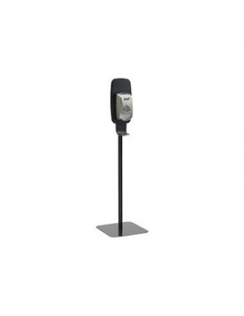 Purell stander til dispenser m/monteringsplade sort -