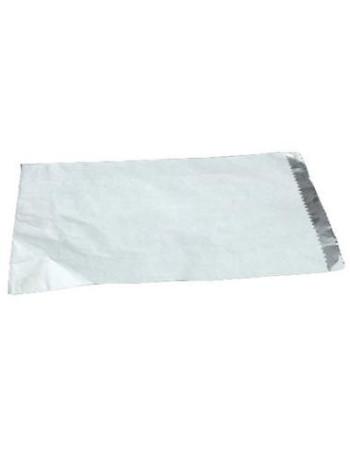 Grillposer hvid m/invendig alufolie 250stk/pk -