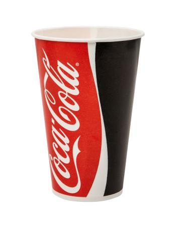 Drikkebægre Coca Cola Pap 300-500ml