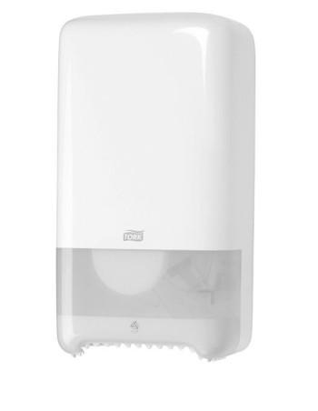 Dispenser Tork T6 hvid t/toiletpapir -