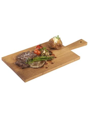 Serveringsplanke med håndtag 35x22x1.7cm -