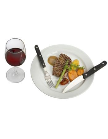 Kniv steak 24.7cm Proff-line 6stk/pak