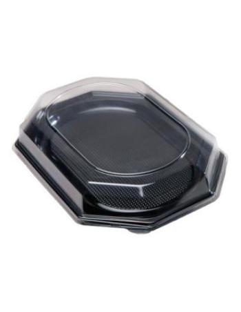 plastlåg t/ Serveringsfad 55x37x6.5cm 50stk -