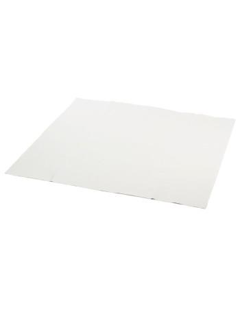 Stikdug papir m/PE-belægning hvid