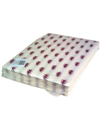 Burger papir hvid 1000stk/pk