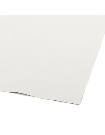 Stikdug papir m/PE-belægning hvid -