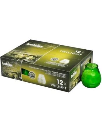 Lysbowle limegrøn 70 timer  12stk/pak -