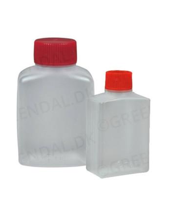 Soyabeholder 30ml klar PE og PP 100mm/ps -