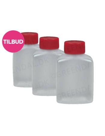 Soyabeholder 30ml Klar inkl. låg 30x100stk/kar -
