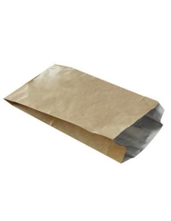 Grillpose brun m/inv. alufolie