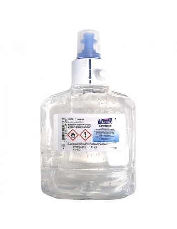 Hånddesinfektion GEL 70% til LTX dispenser 1200ml -