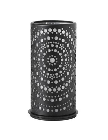Lysestage metal 140 x 75 mm - Billy, sort 4stk/pak
