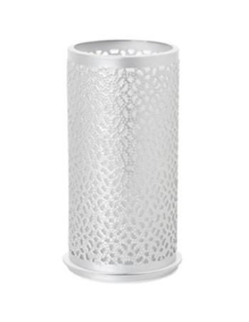 Lysestage t/LED metal 140x75mm Billy Sølv 4stk/pk