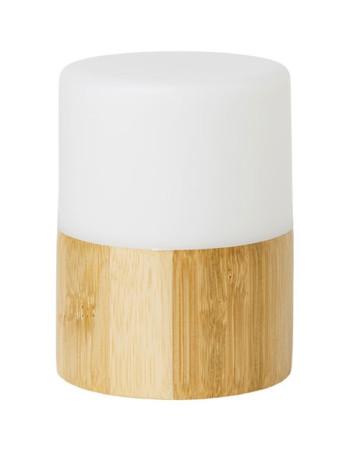 Lysestage t/LED Bamboo Bright 105x75mm 4stk/pk