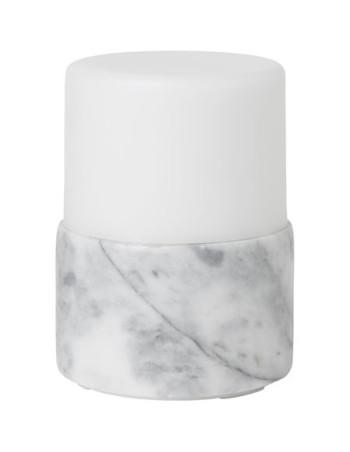 Lysestage t/LED Marble Bright 105x75mm 4stk/pk