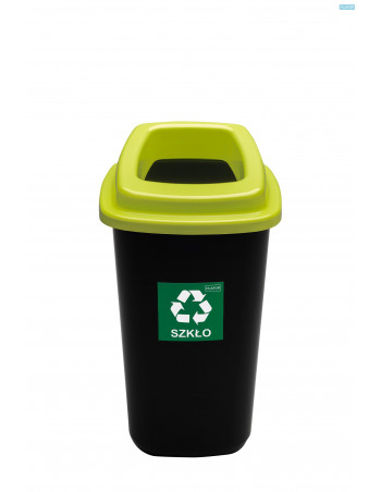Affaldsbeholder åben låg 90L Lime Låg