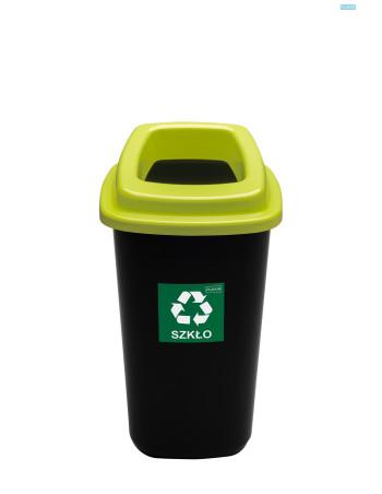 Affaldsspand m/vippelåg 47L