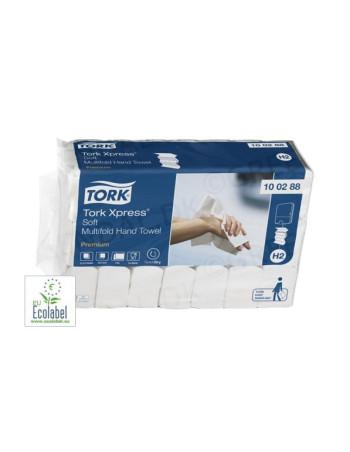 Papirhåndklæde Prem. Tork Xpress H2 2-lags M-fold 2310stk/kar -