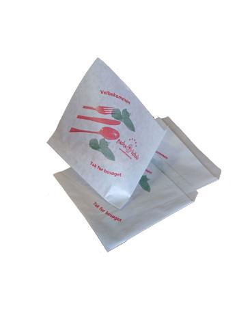 Burgerlomme lille (13x14cm) 2000stk/krt