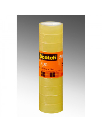 Tape Scotch kontortape 508 transparent 15mmx33m