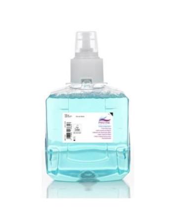Skumsæbe Pristine Frisk til LTX dispenser Blomstermærket m/parfume 2x1200 ml blå