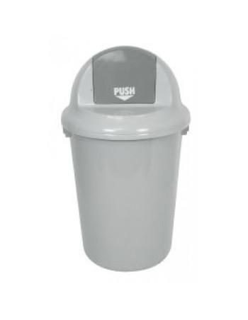 Affaldsspand m/vippelåg 60L -