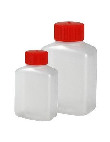 Soyabeholder 15ml klar  m/rødt låg 100stk/ps