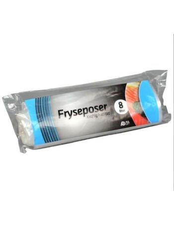 Frysepose 8L 30stk/rl