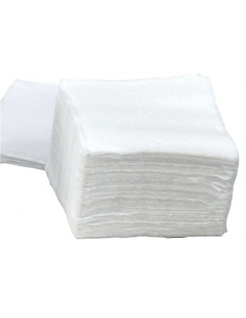 Serviet 1-lags 1/4 fold 33x33cm hvid 8x500stk/kar -