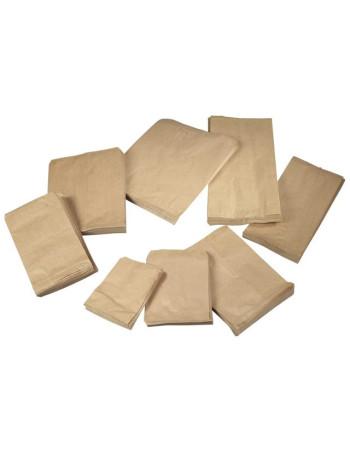 Bagerpose 0,5kg brun 1000stk
